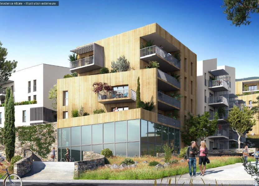 Appartement à vendre 30.92m2 à Ajaccio