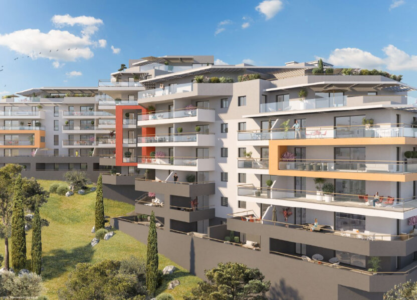 Appartement à vendre 124.85m2 à Ajaccio