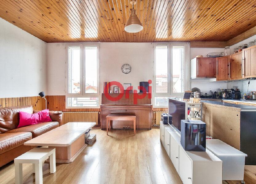 Appartement à vendre 50.42m2 à Villejuif