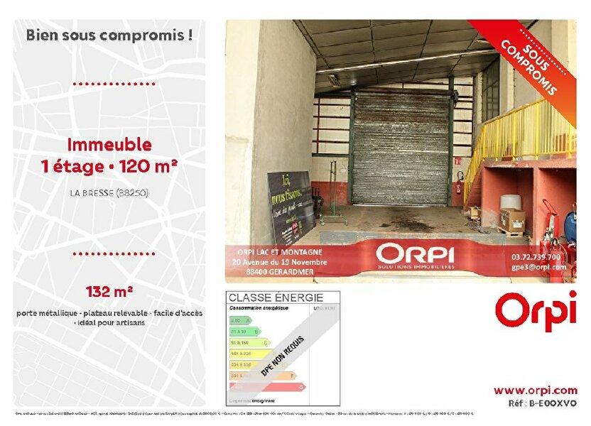 Immeuble à vendre 120m2 à La Bresse