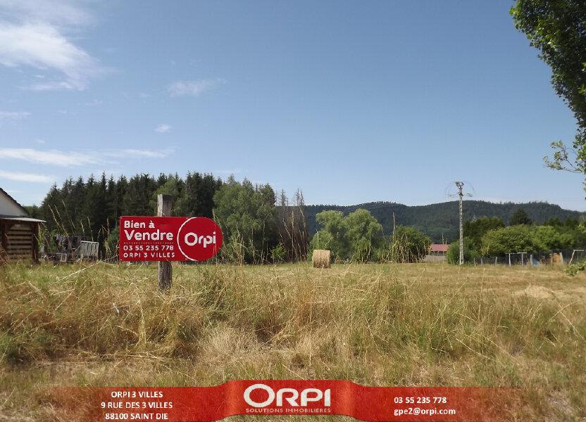 Terrain à vendre 2195m2 à Étival-Clairefontaine