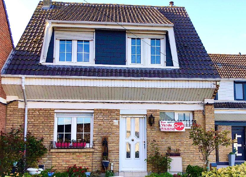 Maison à vendre 95m2 à Leffrinckoucke