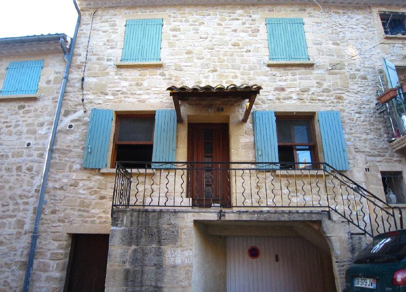 Maison à vendre 82m2 à Saint-Bonnet-du-Gard