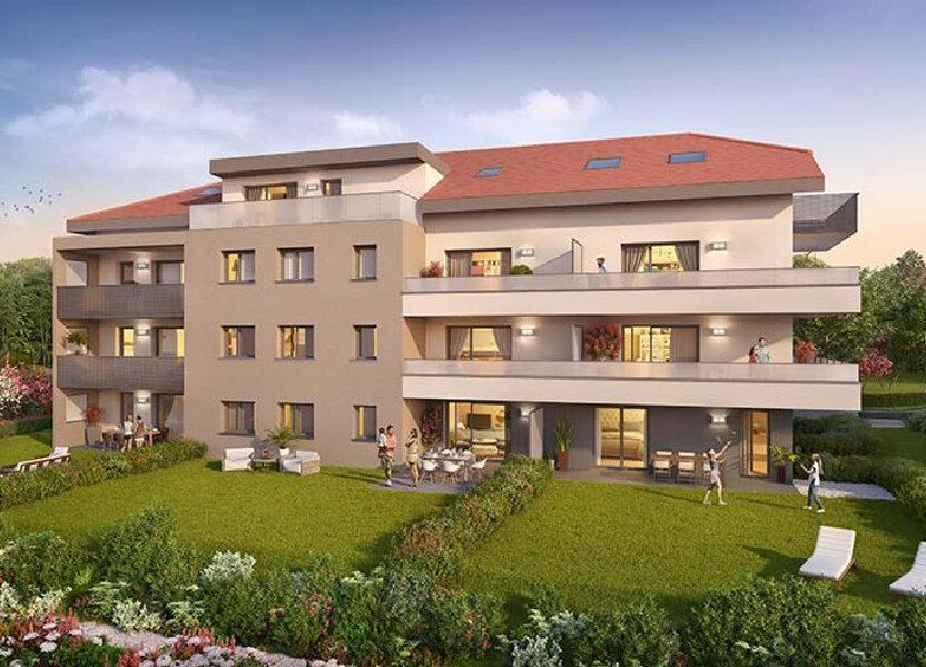 Appartement à vendre 40.71m2 à Etaux