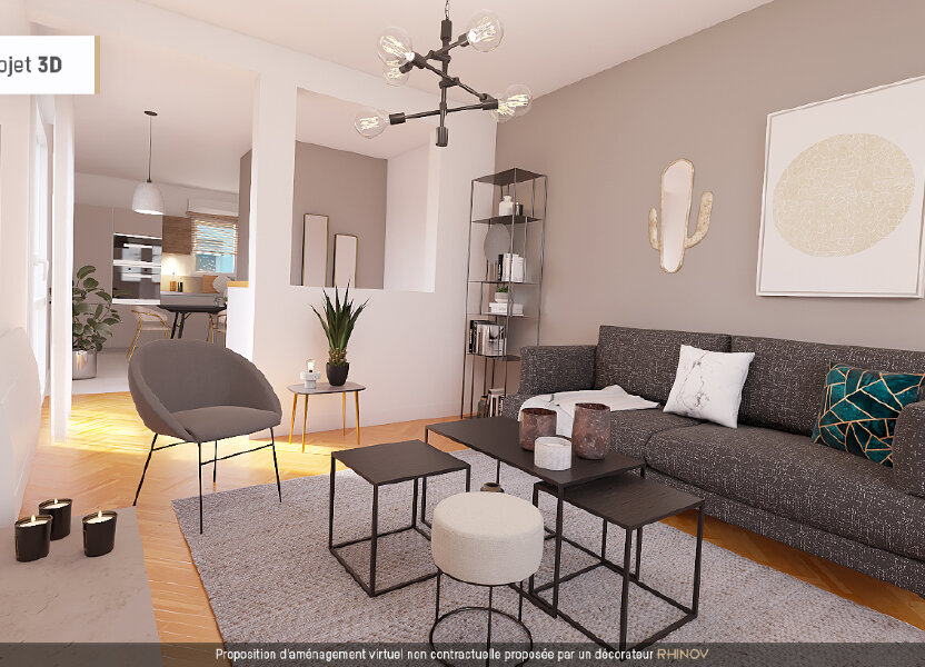 Appartement à vendre 61.16m2 à Maurepas