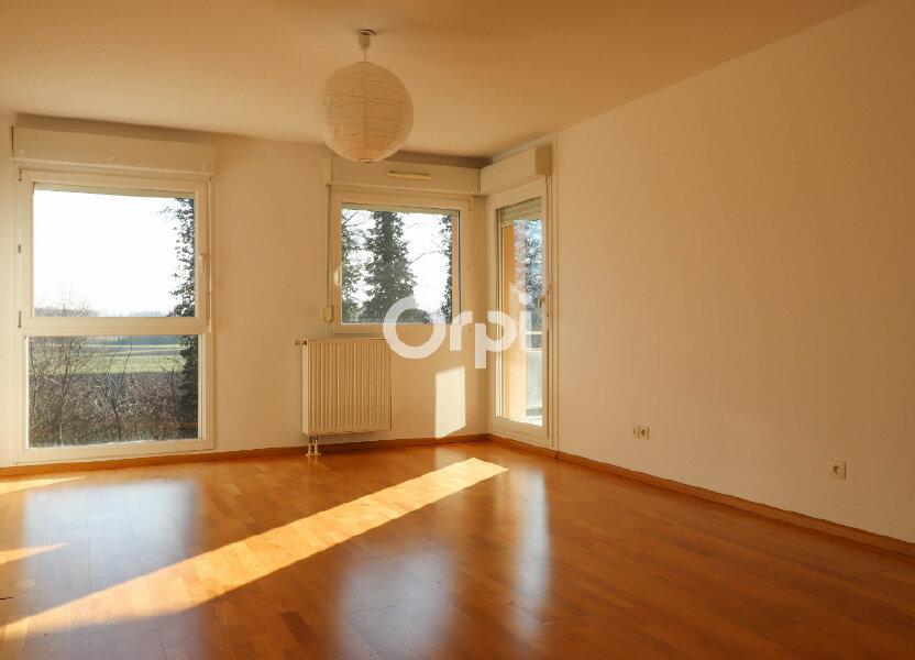 Appartement à louer 52.25m2 à Strasbourg