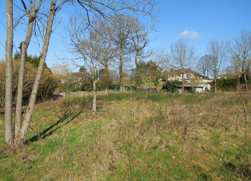Terrain à vendre 2808m2 à Saint-Junien