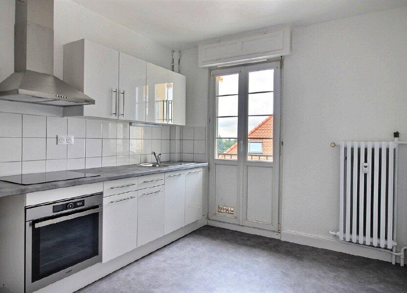 Appartement à louer 56.29m2 à Strasbourg