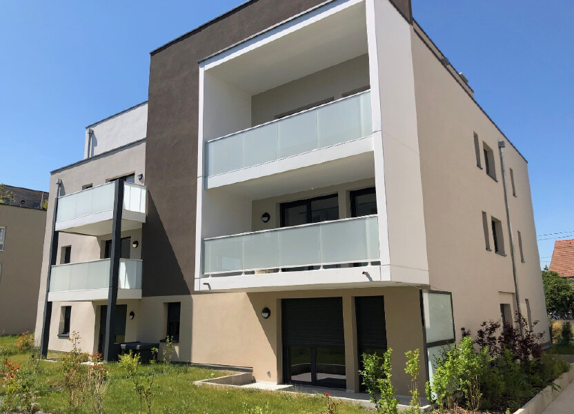 Appartement à louer 40.9m2 à Souffelweyersheim