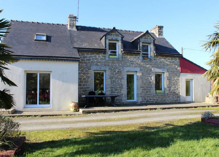 Maison à vendre 109m2 à Plounévez-Quintin