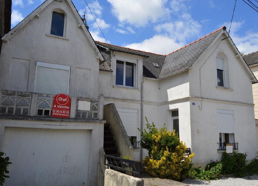 Maison à vendre 111.57m2 à Rostrenen
