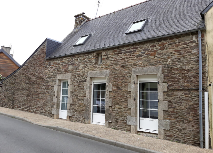 Maison à louer 80m2 à Cléden-Poher