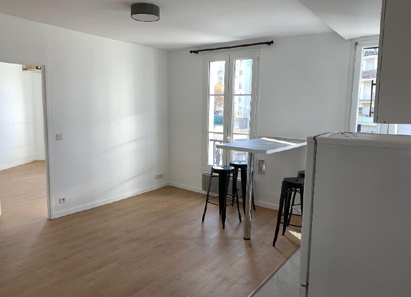 Appartement à louer 35.48m2 à Saint-Ouen