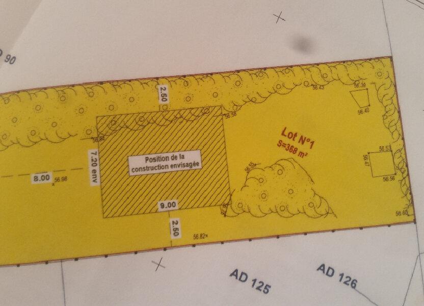 Terrain à vendre 368m2 à Créteil