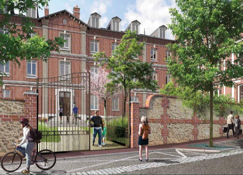 Appartement à vendre 44.5m2 à Saint-Germain-Village