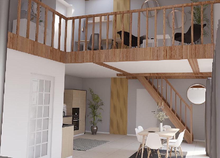 Appartement à vendre 124m2 à La Riche