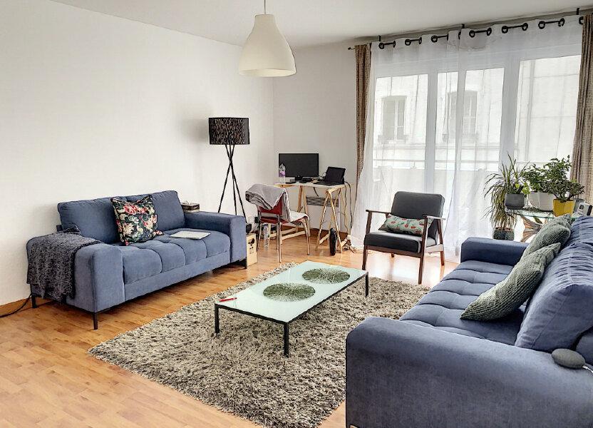 Appartement à louer 72.59m2 à Tours