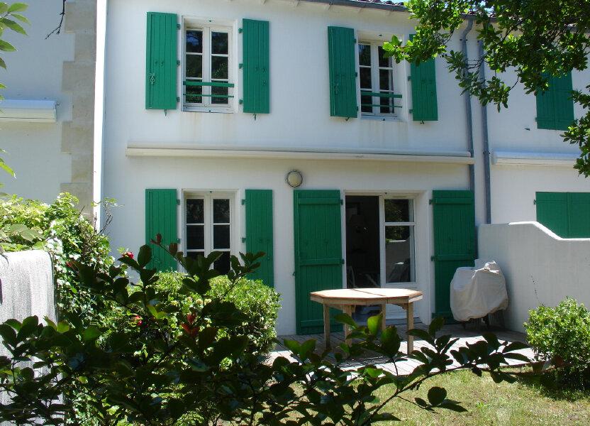 Maison à vendre 68m2 à La Couarde-sur-Mer