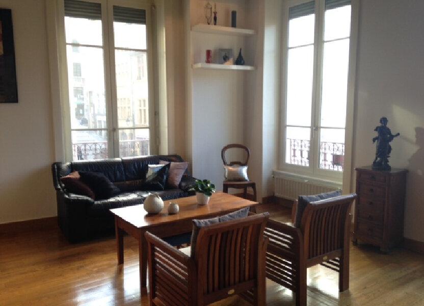 Appartement à louer 75.38m2 à Lyon 1