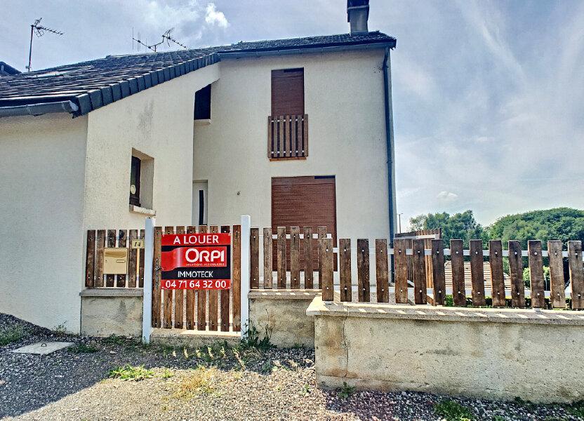 Maison à louer 80m2 à Lafeuillade-en-Vézie