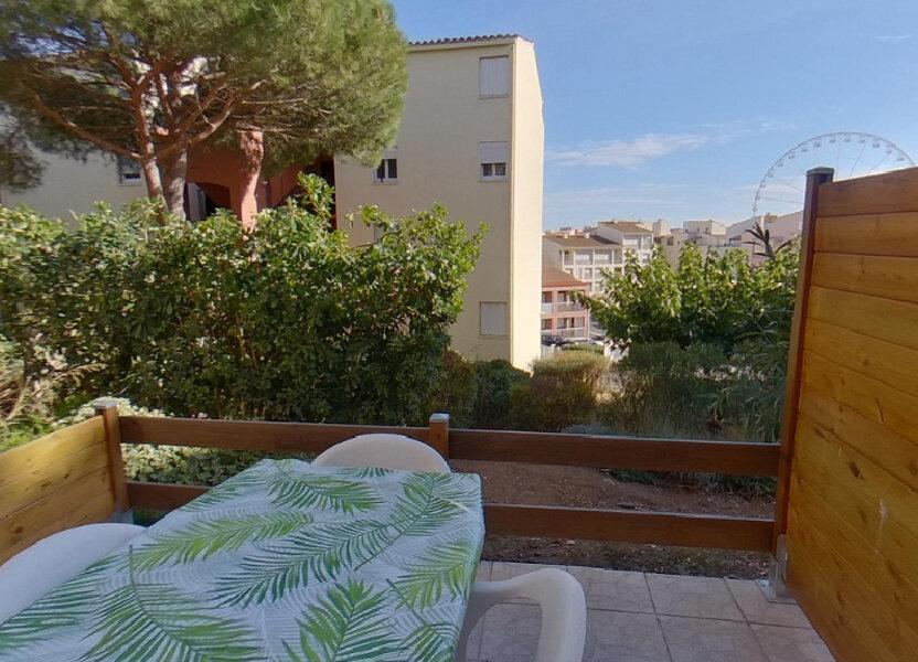 Appartement à vendre 25.2m2 à Le Cap d'Agde - Agde