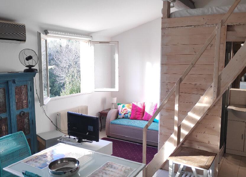 Appartement à louer 27m2 à Vallauris