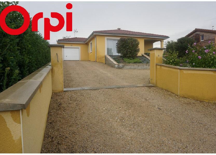 Maison à vendre 101m2 à Montrevel-en-Bresse