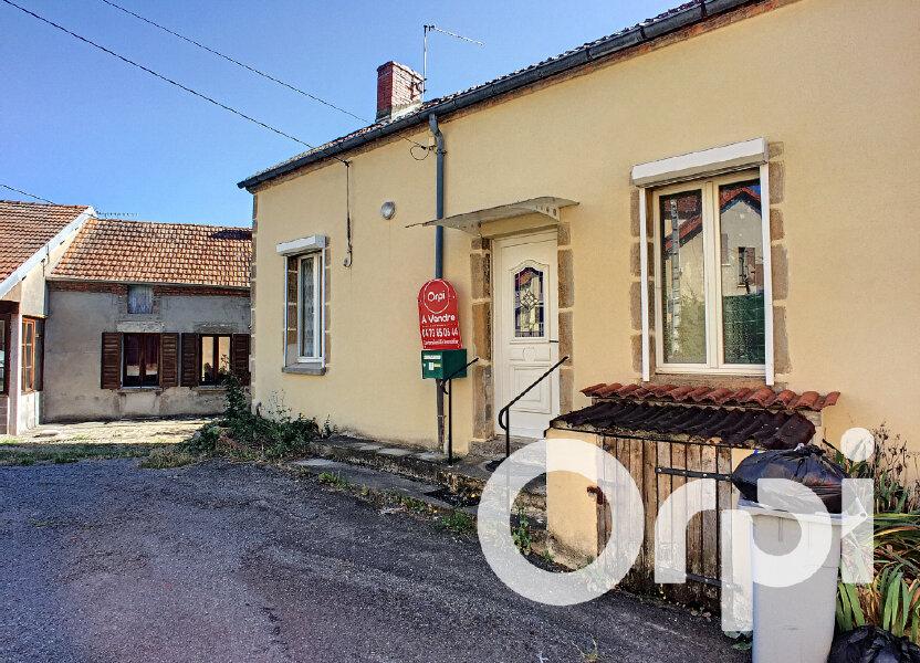 Maison à vendre 80m2 à Saint-Éloy-les-Mines