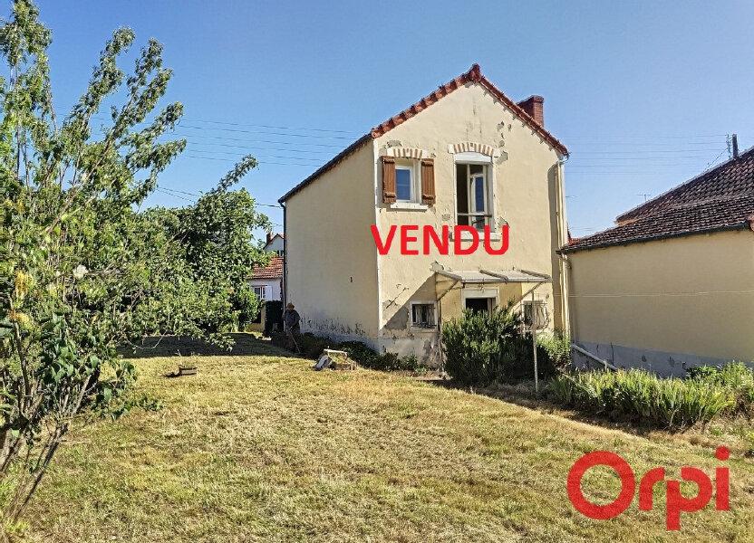 Maison à vendre 77m2 à Montluçon