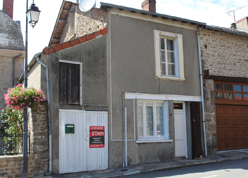 Maison à vendre 60m2 à Bersac-sur-Rivalier