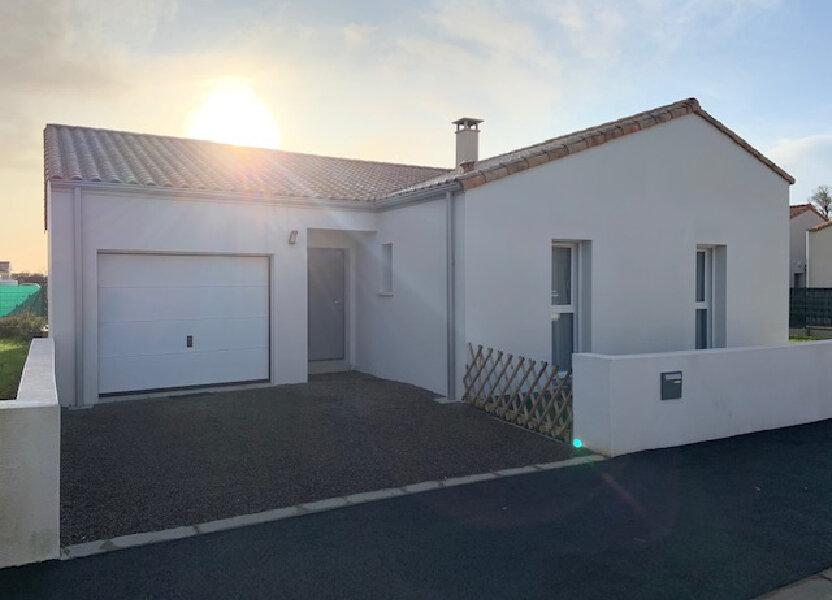 Maison à vendre 80m2 à Longeville-sur-Mer