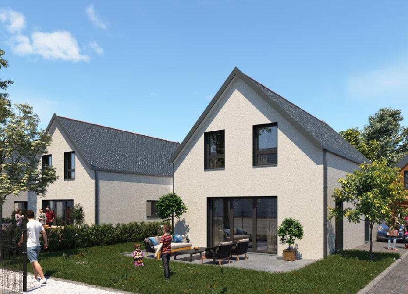 Maison à vendre 92m2 à Kingersheim