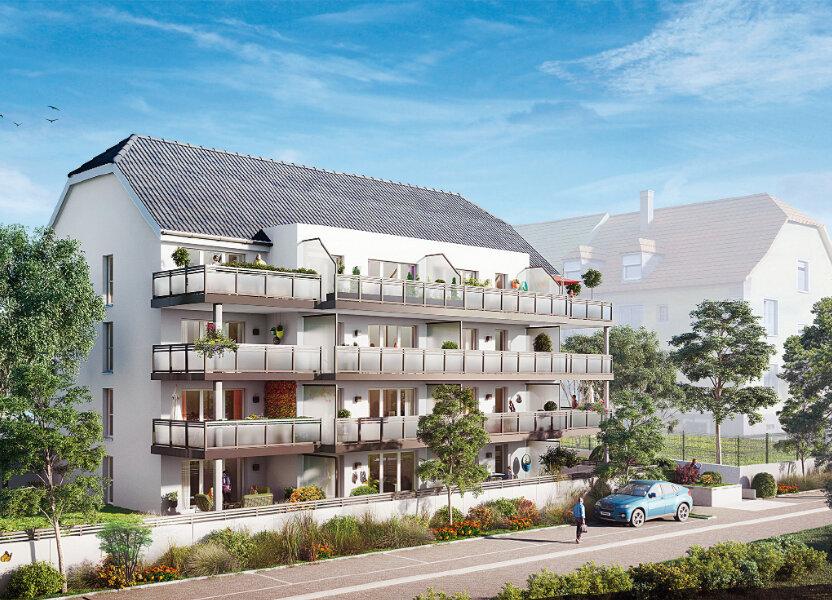 Appartement à vendre 45.55m2 à Brunstatt