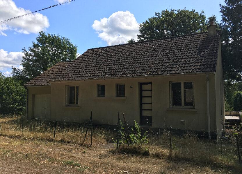 Maison à vendre 75.76m2 à Pierrefitte-sur-Sauldre
