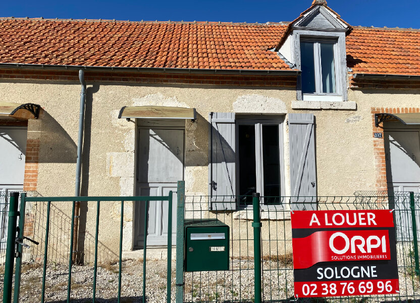 Maison à louer 50m2 à Jouy-le-Potier
