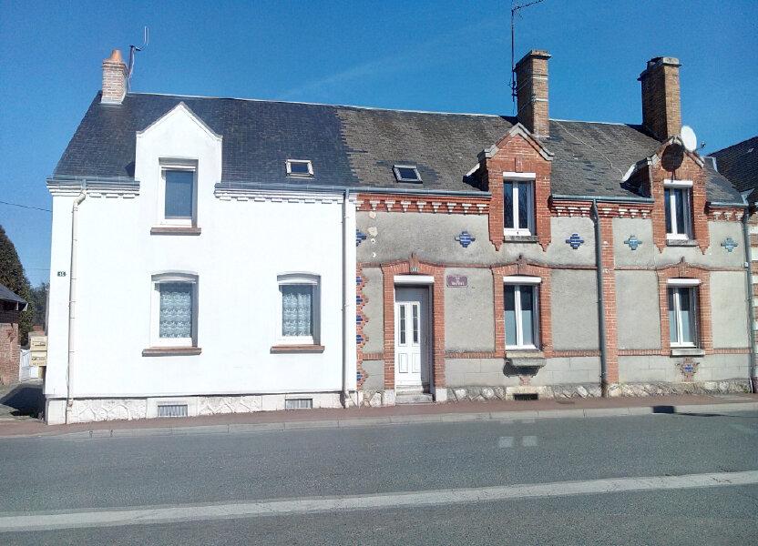 Maison à vendre 77.11m2 à Nouan-le-Fuzelier