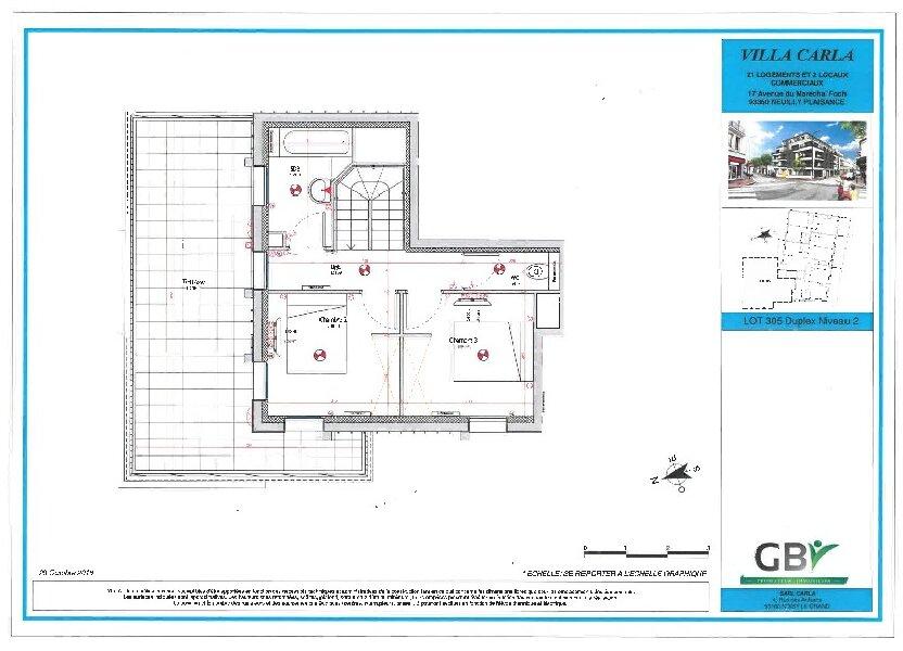 Appartement à vendre 85.01m2 à Neuilly-Plaisance