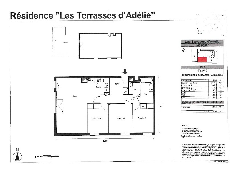 Appartement à vendre 85.24m2 à Toulouse