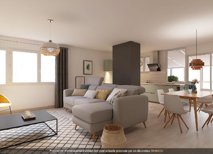 Appartement à vendre 72.16m2 à Villeurbanne