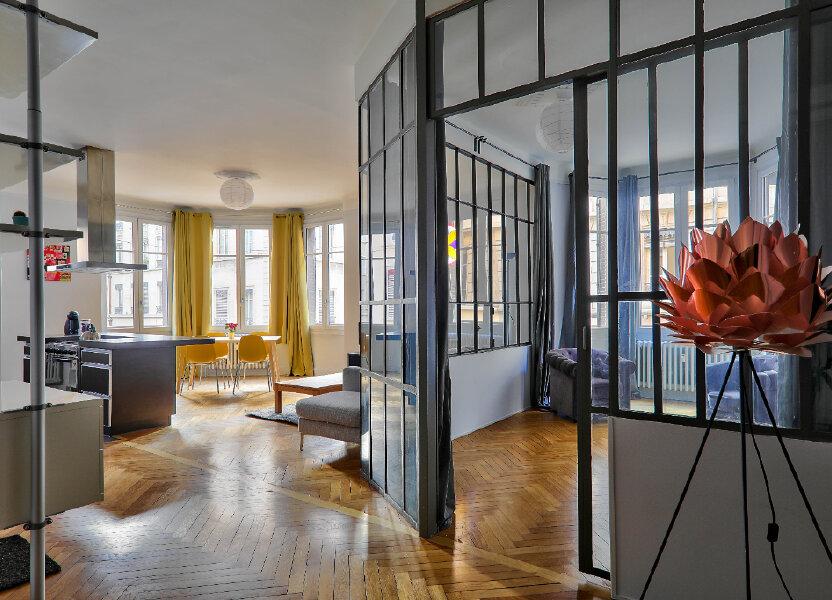 Appartement à louer 83.17m2 à Lyon 6
