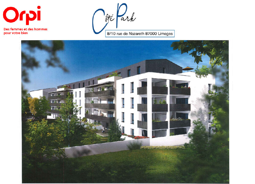 Appartement à vendre 66.58m2 à Limoges