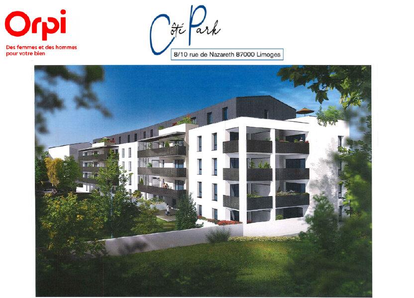 Appartement à vendre 63.31m2 à Limoges