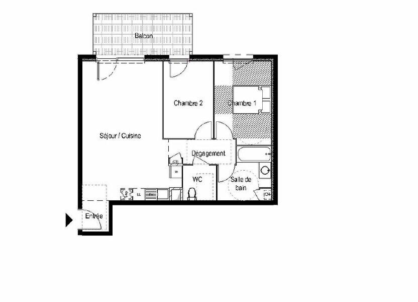 Appartement à vendre 64.42m2 à Saint-Cergues