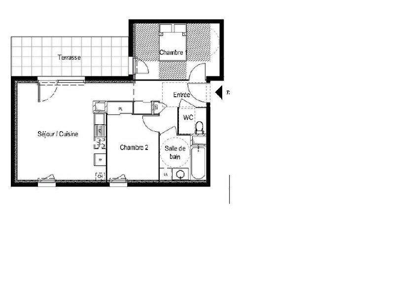 Appartement à vendre 56.83m2 à Saint-Cergues