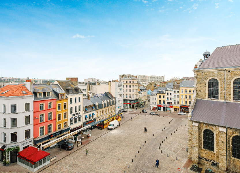 Appartement à vendre 70m2 à Boulogne-sur-Mer