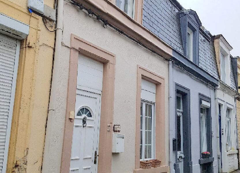 Maison à vendre 68m2 à Boulogne-sur-Mer