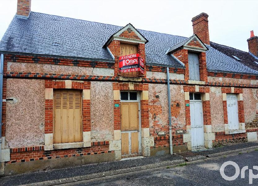 Maison à vendre 88.24m2 à Lion-en-Sullias