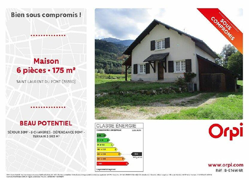 Maison à vendre 175m2 à Saint-Laurent-du-Pont
