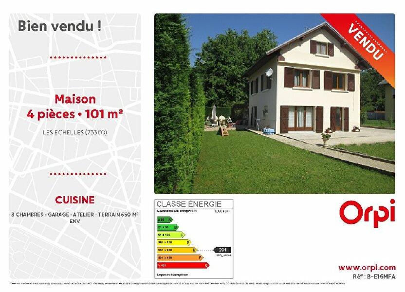 Maison à vendre 101m2 à Les Échelles