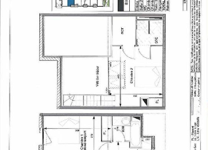 Appartement à louer 56.6m2 à Toulouse